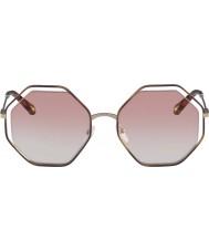 Chloe Mesdames ce132s 211 58 lunettes de soleil coquelicot
