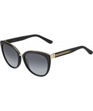 Jimmy Choo Mesdames dana-s 10e HD lunettes noires