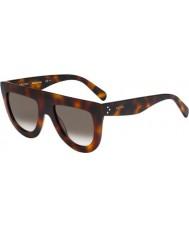 Celine Mesdames cl 41398-s 05L lunettes de soleil z3 havane