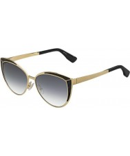 Jimmy Choo Mesdames domi-s psu 9c or lunettes noires