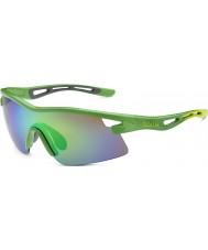 Bolle Edition limitée vortex Orica vert émeraude lunettes de soleil brunes