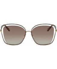 Chloe Mesdames ce133s 205 60 lunettes de soleil coquelicot