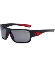 Cebe Murmure noir mat rouge 1500 gris éclair polarisée lunettes de soleil miroir