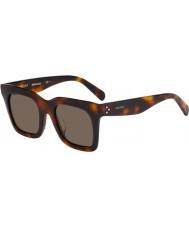 Celine Mesdames cl 41411-fs 05L lunettes de soleil x7 havane