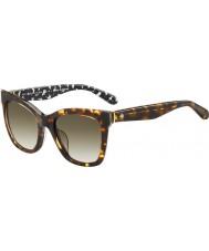 Kate Spade New York Emmylou-s Ladies S3P lunettes de soleil cc havane