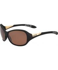 Bolle Grâce mat grès polarisé noir des lunettes de soleil d'armes à feu