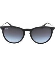 RayBan Rb4171 caoutchouc 54 erika lunettes de soleil 622-8g noir