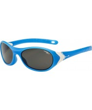 Cebe Cricket (3-5 ans) matt cyan blanc 1500 gris lunettes de soleil de lumière bleue
