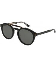 Gucci Lunettes de soleil Hommes gg0124s 001