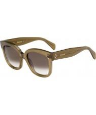 Celine Mesdames cl 41805-s QP4 z3 lunettes militaires verts