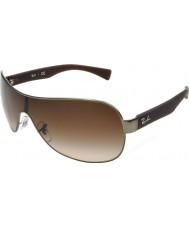 RayBan Rb3471 32 jeune gunmetal mat 029-13 lunettes de soleil