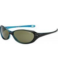 Cebe Koala (7-10 ans) Les lunettes de soleil de cristal bleu noir brillant