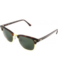 RayBan Rb3016 clubmaster faux tortoiseshell - vert