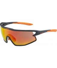 Bolle B-rock mat tns noir et orange lunettes de soleil de feu