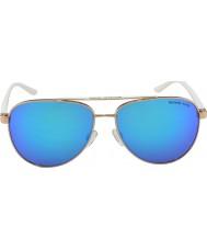 Michael Kors Mk5007 59 sportive rose or blanc 104525 lunettes de soleil