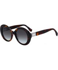 Fendi Ladies ff0293 s 086 ib 52 lunettes de soleil