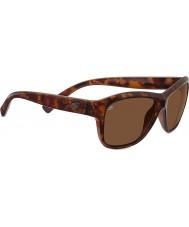 Serengeti Gabriella écaille rouge brillant polarisée pilotes lunettes de soleil