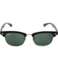 RayBan Junior Rj9050s 45 clubmaster noir 100-71 lunettes de soleil