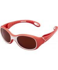 Cebe S-kimo (âge 1-3) rouge 2000 lunettes de soleil de mélanine