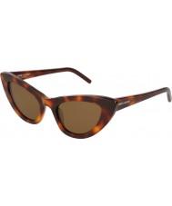 Saint Laurent Ladies sl 213 lily 006 52 lunettes de soleil