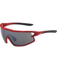 Bolle B-rock mat tns rouge et noir des lunettes de soleil d'armes à feu
