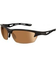 Bolle Bolt brillant modulateur noir des lunettes de soleil v3 de golf