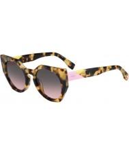 Fendi Facets ff 0151-s 00f en a repéré des lunettes de soleil havane