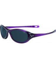 Cebe Gecko (âge 5-7) des lunettes de soleil de cristal violet