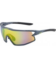 Bolle B-rock mat modulateurs de fumée des lunettes de soleil d'émeraude brun