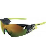 Bolle 6ème sens fumée mat vert émeraude lunettes de soleil brunes